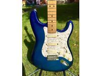 1993 Fender 'Strat Plus Deluxe' American Stratocaster Guitar – Blue Burst - Rare