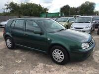 Volkswagen Golf 1.6 Automatic 2001/51 Plate SE Petrol- Low Mileage
