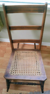 2 Vintage Wooden Rocking Chairs