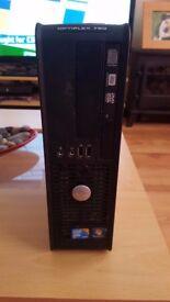Windows 10 Wireless Dell Optiplex 780 PC Office 2016 2.5GHz Intel Quad Core 8GB ram 250GB HDD DVDRW