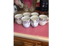 4 sets of mugs