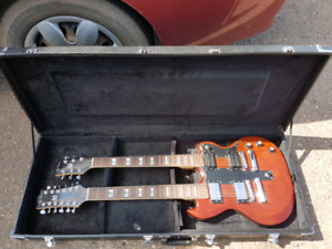 Double Neck SG and Case