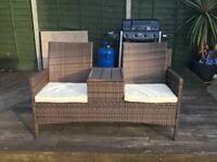 Rattan Garden Two-Seater