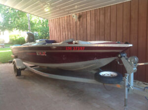 Princecraft fishing boat package