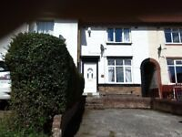 2 bedroom unfurnished house, with large garden to let in S6 area of Sheffield for £480 p.c.m.