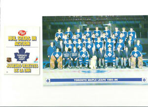 OLDER TORONTO MAPLE LEAFS COLLECTIBLES ~ PHOTO ~ SCHEDULES ~ ETC
