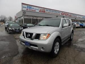 2005 Nissan Pathfinder LE,FULLY LOADED,4X4,LEATHER,SUNROOF,7PASS