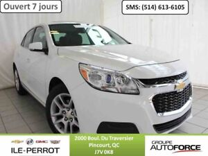 2016 CHEVROLET MALIBU LIMITED LT TOIT OUVRANT, CAMERA RECUL,