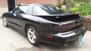 1997 Pontiac Trans Am WS6 6 Speed Black T-Tops