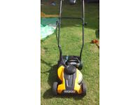 Worx Lawnmower 24V Battery Operated Cordless Mower comes with Battery, Charger & Grassbox
