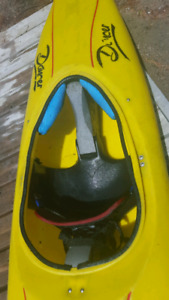 Used white water kayak