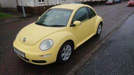 Volkswagen Beetle 1.4 Luna, 2007, 61,000 miles