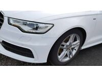 "Audi a6 c7 5x112 alloy wheels 18"" with nearly new tyres"