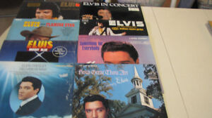 8 Elvis vinyl record albums all for $30