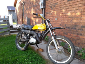 Yamaha enduro ct1 175cc two stroke Dirt Bike
