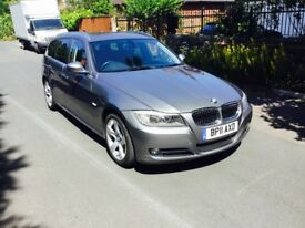BMW 3 SERIES 2.0 318D EXCLUSIVE EDITION TOURING 5DR Manual (grey) 2011