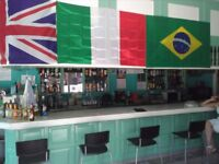 Bar Cafeteria in Adeje Tenerife. Torviscas next to the beach. Low rent great opportunity.