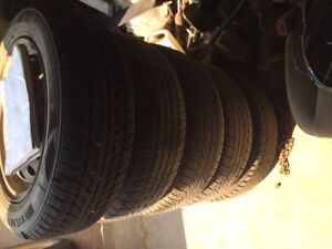 2004 Honda Civic Winter Tires With Rims
