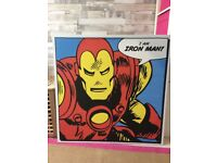 Iron man large canvas
