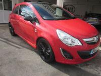 2012 Vauxhall Corsa 1.2i 16v Limited Edition ***VXR STYLING PACK - FSH *****