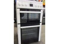 Beko BDV555AW 50cm Cooker White