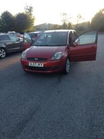 Ford Fiesta 57 plate facelift 50000 on the clock