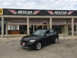 2013 BMW X1 X DRIVE AUT0 AWD LEATHER PANORAMIC ROOF 95K