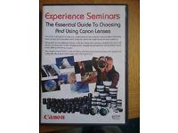Essential gude to canon lenses
