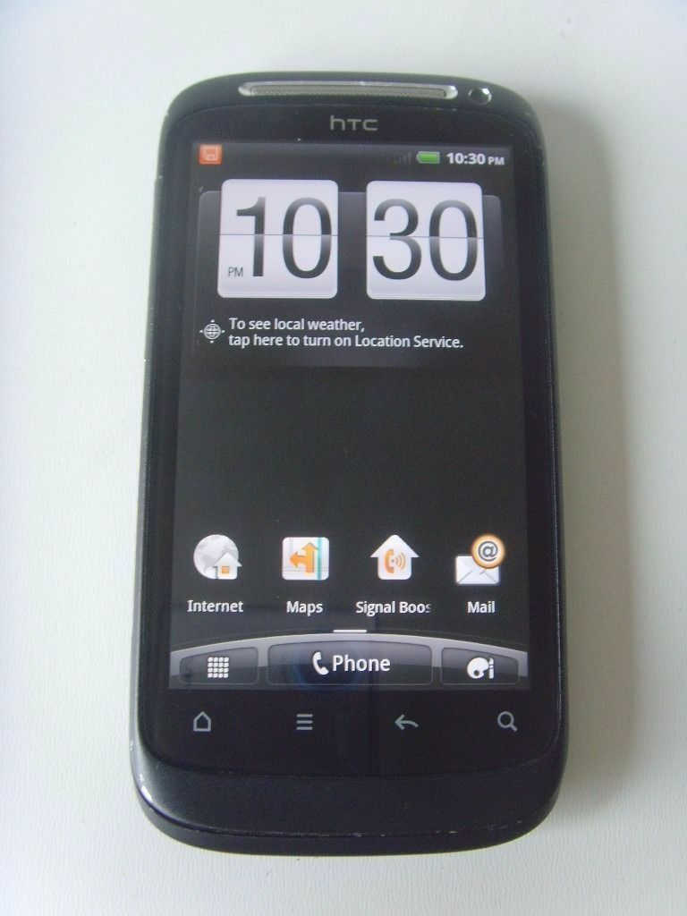HTC Desire S Black Orange