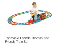 Thomas the tank ride along train