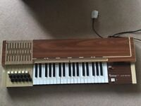 """RETRO Electric organs/piano """"BONTEMPI 13 """" for sale ONLY 12£"""