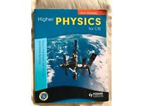 Higher Physics for CfE with Answers by Hodder Gibson bought 2017