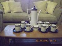 Portmeirion coffee set by Susan Willliams Ellis