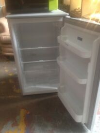 Silver indesit fridge