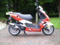 peugeot speedfight 3 2012 50 l/c superb condition
