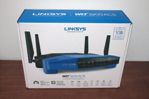 Linksys AC1900 Dual Band Wifi Wireless Router (WRT1900ACS-CA)