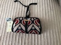 Ted baker make up bag with brushes