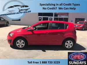 2014 Chevrolet Sonic AC,HANDS FREE,LINE IN,EASY ON FUEL!!!