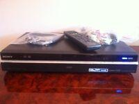 Sony MULTIREGION RDR-HXD790 120GB HDD HDMI DVD FREEVIEW Recorder USB PVR DVB