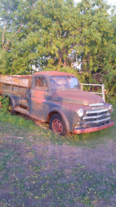 1949 or 1950  dodge 1 ton truck