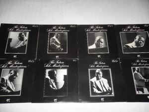 8 Art Tatum solo LPs