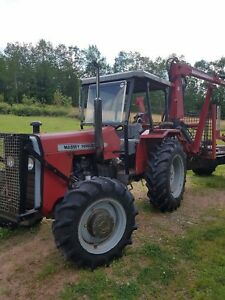 1986 Massey Ferguson Tractor/loader. One owner $25900 obo