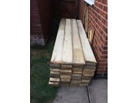 Scaffold Roof wood wooden slats local delivery can be arranged