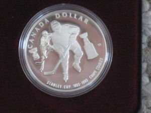 1993 Canadian Dollar for the 100 Anniversary of the Stanley Cup