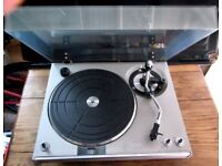 SOLD - BSR QUANTRA 700 VINTAGE TURNTABLE WITH ADC CARTRIDGE EXCELLENT & WORKING