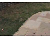 Indian Sandstone Paving 21sqm