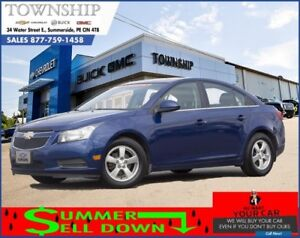 2012 Chevrolet Cruze LT w/2LT - $7/Day! - Automatic - Cruise Con