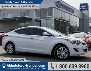 2012 Hyundai Elantra GL BC OWNED & LOW KILOMETRES
