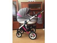Baby pushchair Adamex Barletta Rainbow 2in1
