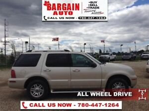 2005 Mercury Mountaineer Limited  AWD,Moon Roof,V8